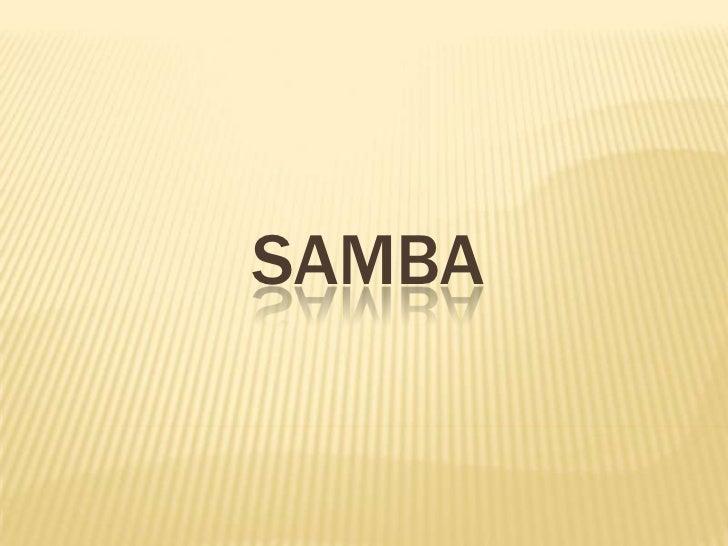 SAmba<br />