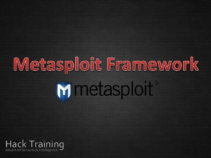 Plataforma de desenvolvimento usada para criar ferramentas de  teste de segurança e explorarmódulos. Também utilizado como...