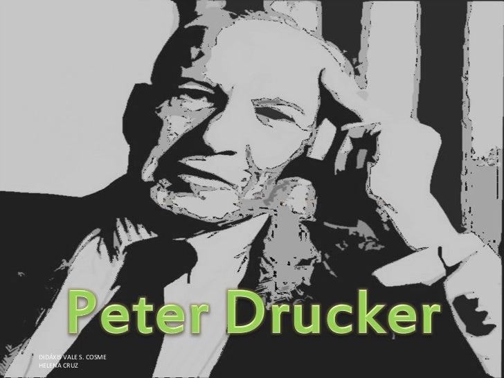 Peter Drucker e Henry Ford