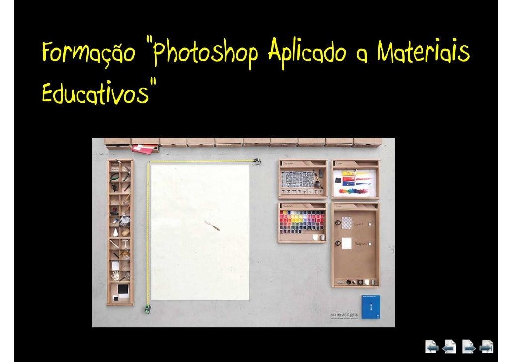 Apresentação 1 Formação Photoshop