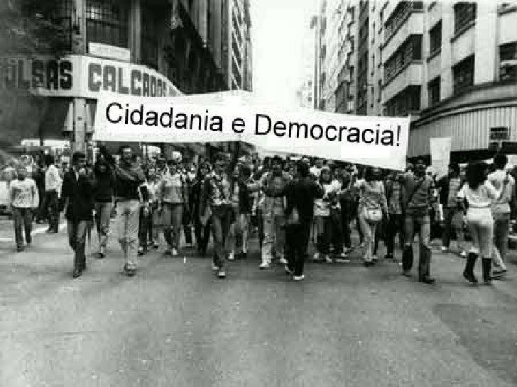 O que é cidadania?   Ser cidadão é respeitar e participar das decisões    da sociedade para melhorar suas vidas e a de ou...
