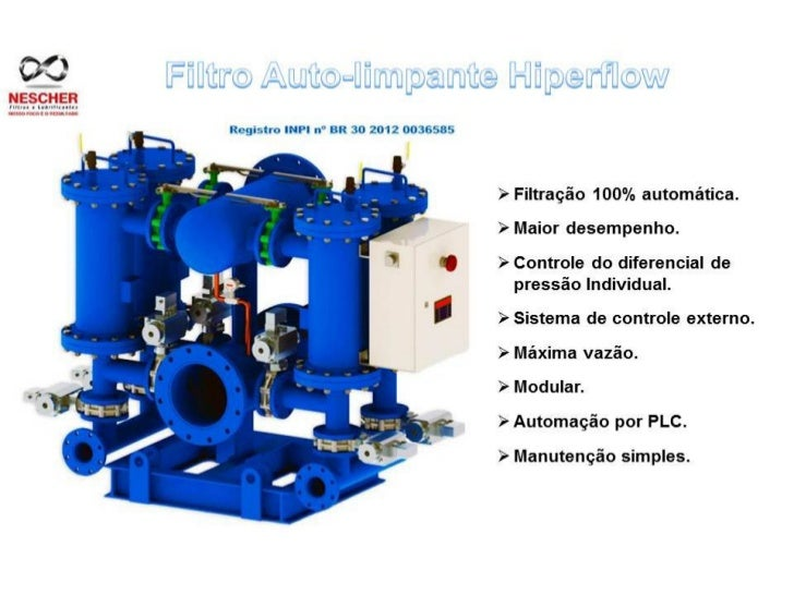 Filtro Auto Limpante - Hiperflow