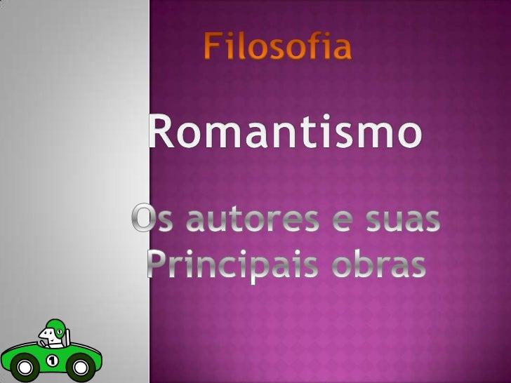 O Romantismo