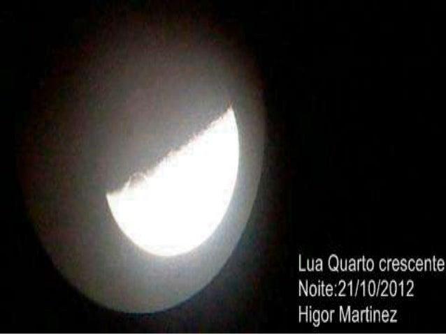 A Lua Quarto crescente