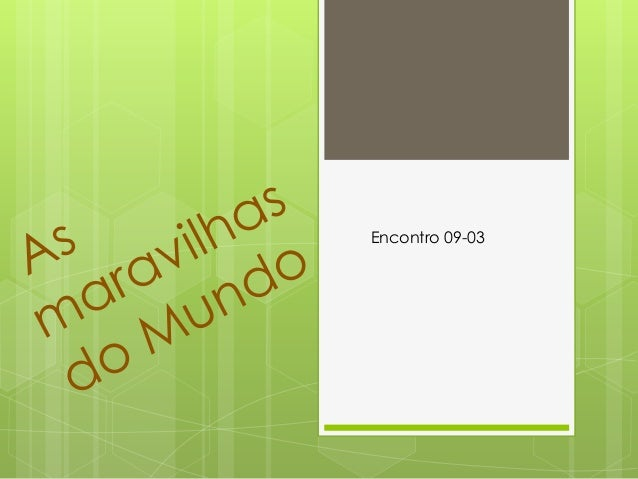 Encontro 09-03