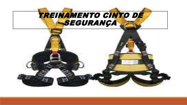 TREINAMENTO CINTO DE  SEGURANÇA