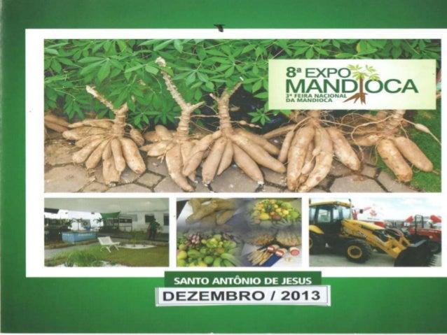 A Expomandioca é um evento que acontece no município de Santo Antonio de Jesus e tem por escopo expor produtos da agricult...