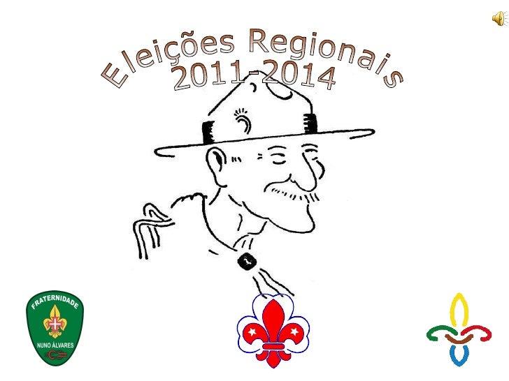 Eleições Regionais 2011-2014