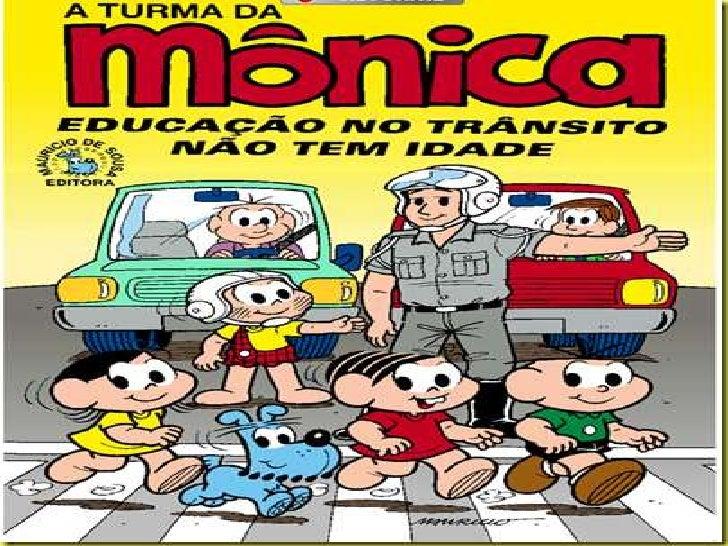Turma da Mônica - educação não tem idade