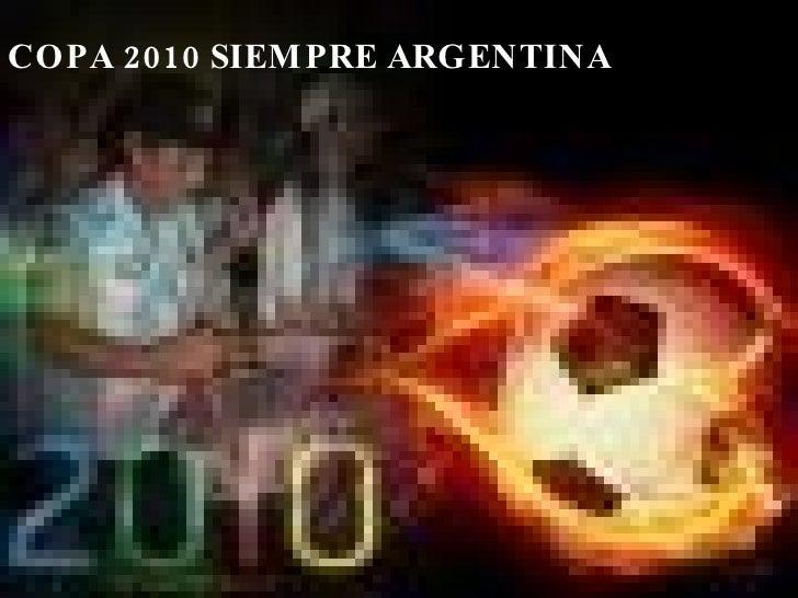 COPA DO MUNDO 2010 ARGENTINA