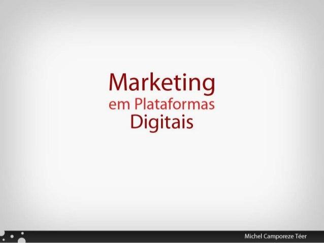 Marketing em Plataformas Digitais