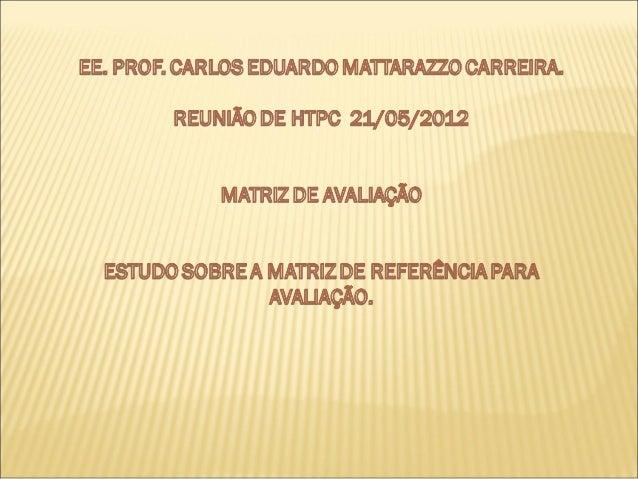 APRESENTAÇÃO DO BOLETIM DAESCOLASARESP 2011SISTEMA DE AVALIAÇÃO DO RENDIMENTO ESCOLAR DE SÃO PAULORESULTADO DA AVALIAÇÃO E...