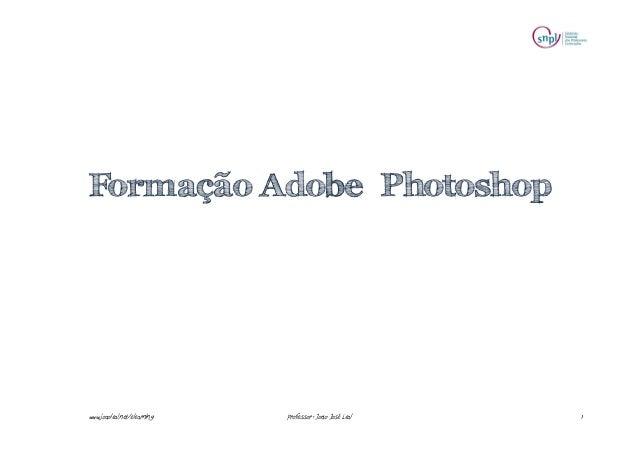 Apresentação 2 Formação Photoshop