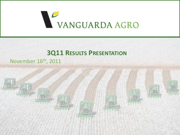 3Q11 Results Presentation