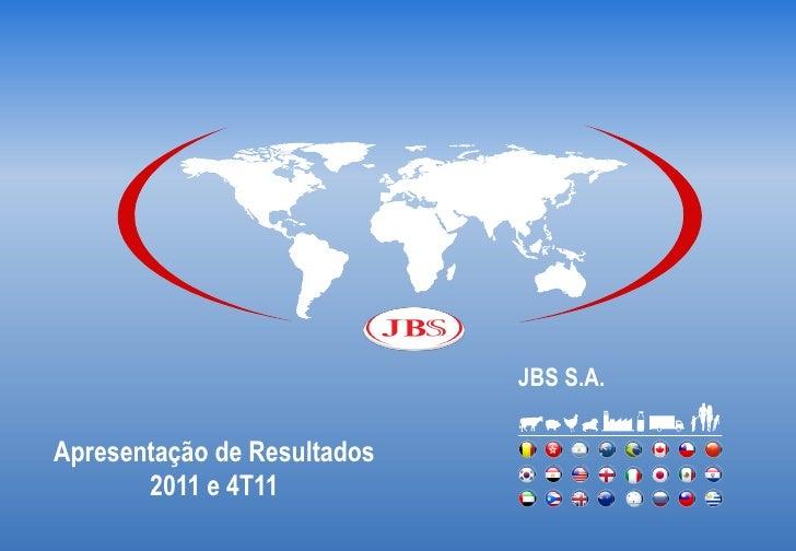 Apresentação 4T11 teleconferência