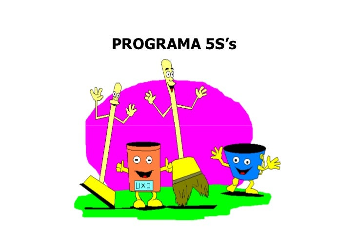 PROGRAMA 5S's