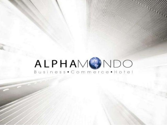 Apresentação alpha mondo