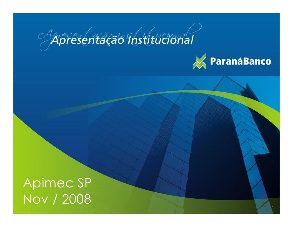 Apimec SP Nov / 2008   1