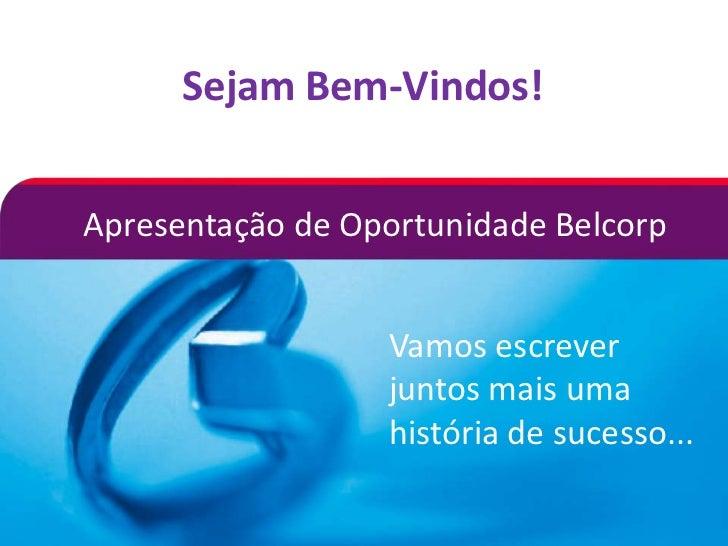 ApresentaçãoCarlos- Belcorp/ novembro