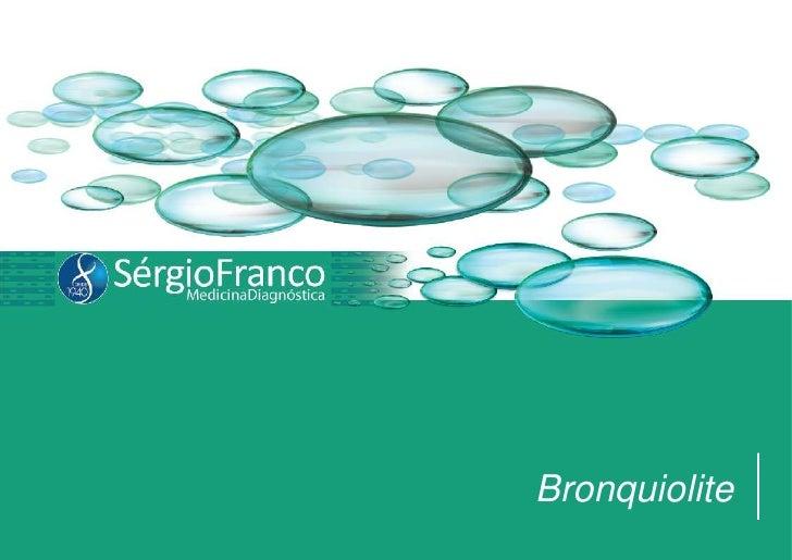 Bronquiolite<br />