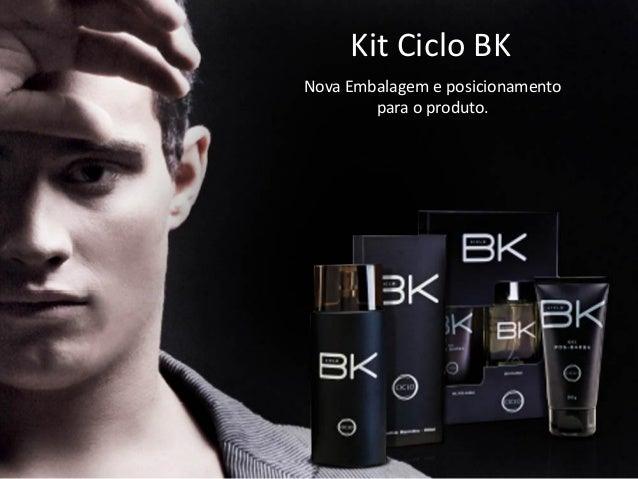 Kit Ciclo BK Nova Embalagem e posicionamento para o produto.