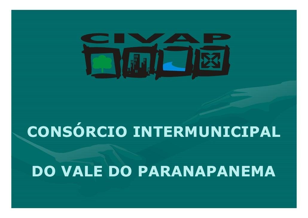 Civap - Consórcio Intermunicipal do Vale do Paranapanema