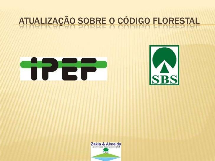 Atualização sobre o código florestal<br />