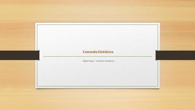 Comanda Eletrônica Digital Expert – Soluções Inovadoras