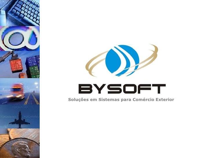 Apresentação Bysoft 2010