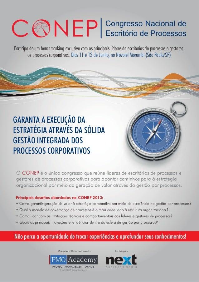 Conep - Congresso Nacional de Escritório de Processos