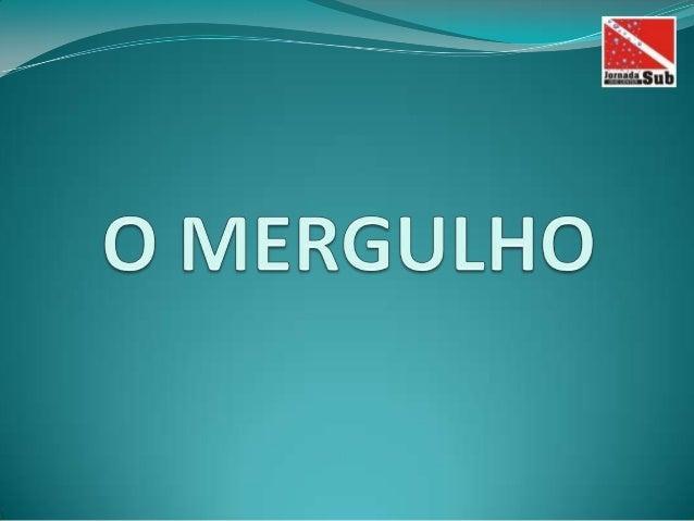 CURSO DE MERGULHO BÁSICO - SCUBA DIVER NAUI
