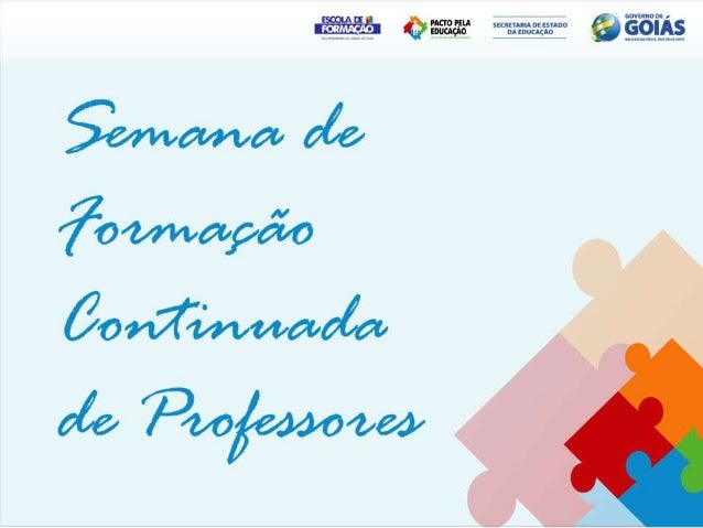 Objetivo• Promover o diálogo e troca de  experiências entre os professores de  diferentes Unidades Educacionais que  atuam...