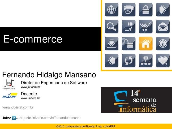 Visão geral sobre e-commerce