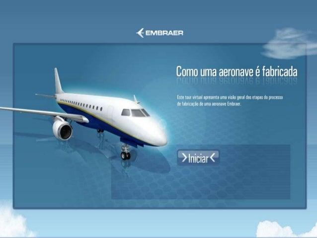 Como uma aeronave é fabricada