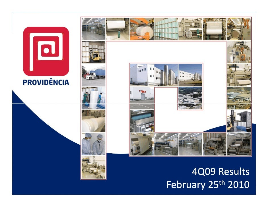 4Q09 Results February 25th 2010