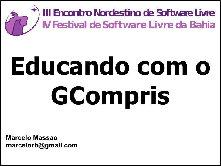 Apresentação GCompris ENSL