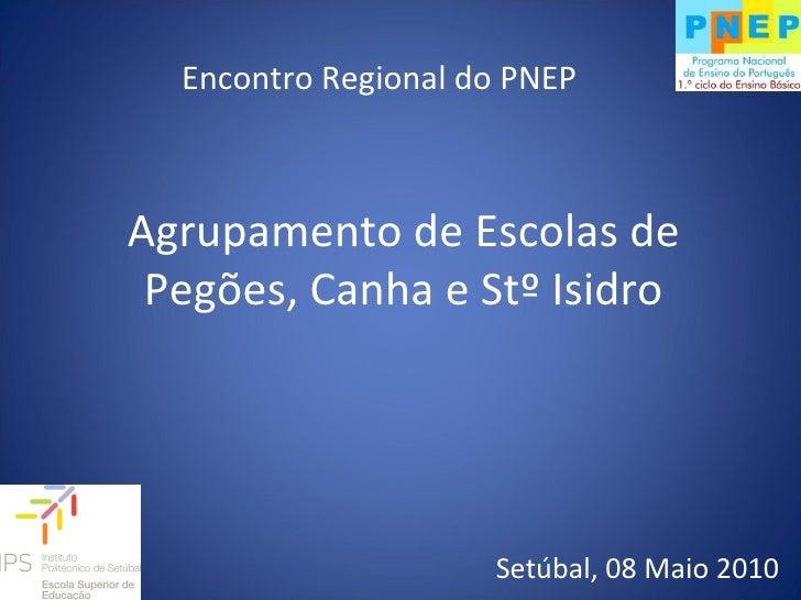 Encontro Regional do PNEP