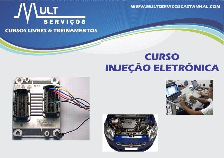 Apresentação injeção eletronica