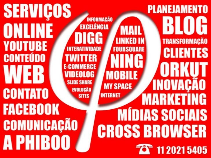 Phiboo Consultoria em Web 2.0 e Social Media Marketing