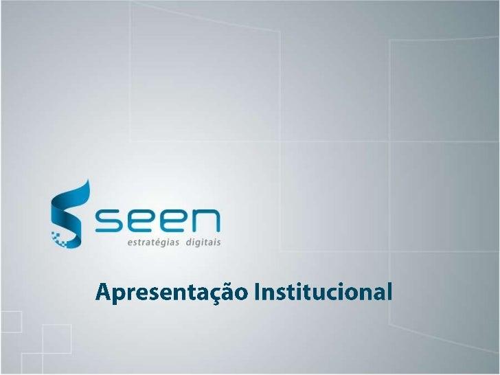 Apresentação Institucional<br />