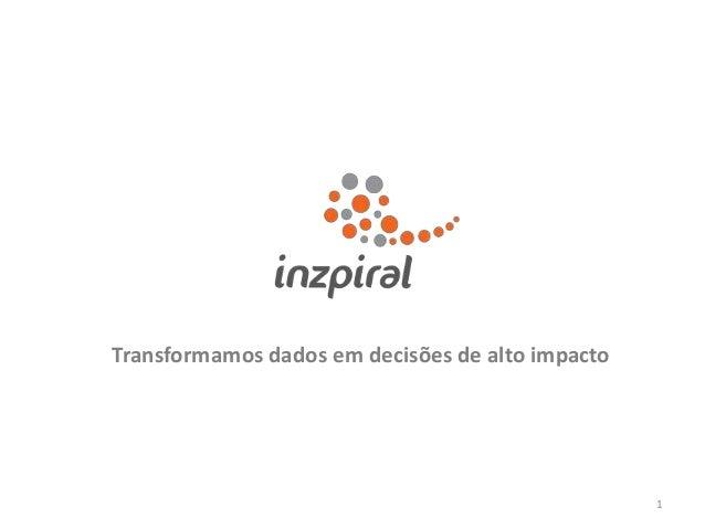 Transformamos dados em decisões de alto impacto  1