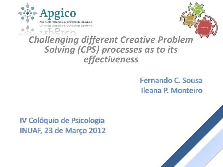Solving                                         Problem                                                             Creati...