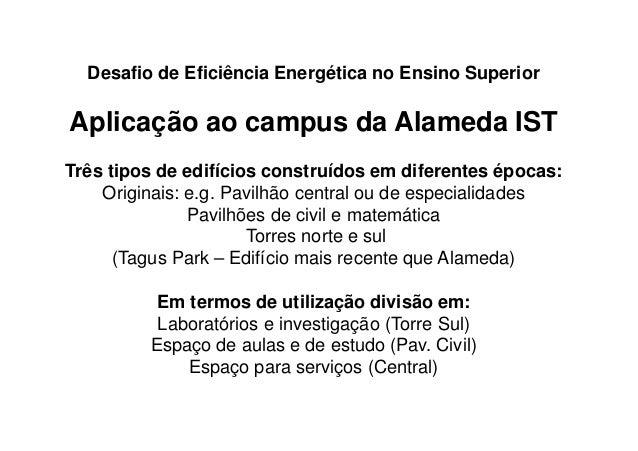 Green Campus - Apresentação Instituto Superior Técnico