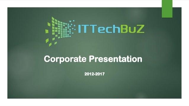 Apresentação Corporativa IT Tech BuZ