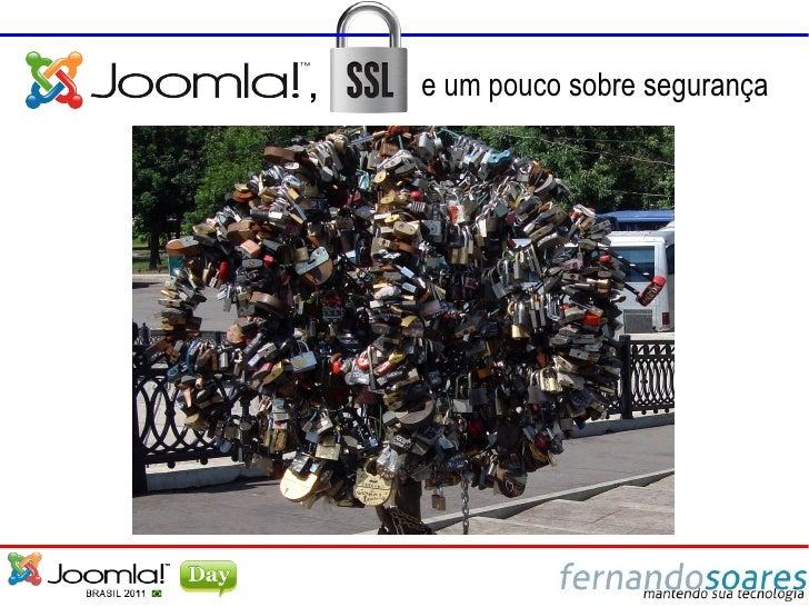 Joomla!, SSL e um pouco sobre segurança