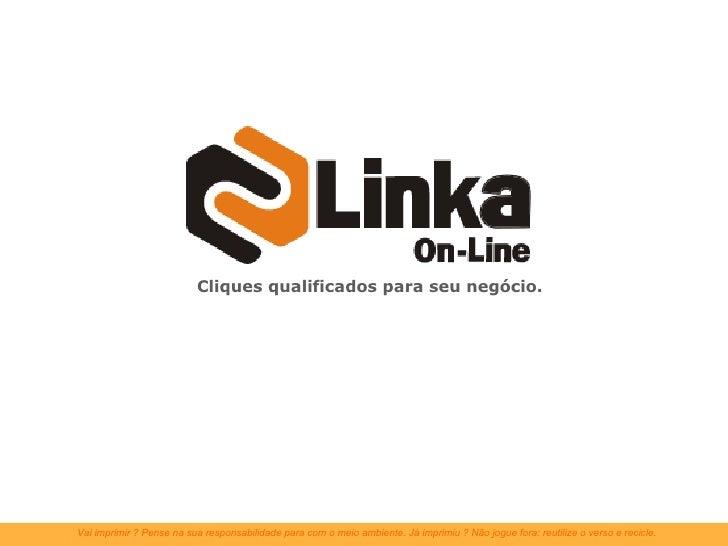 ApresentaçãO Linka On Line 2009