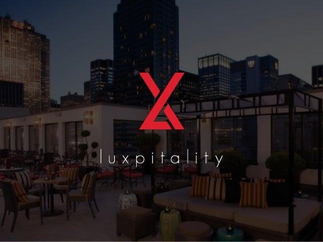 A Luxpitality fornece representação global nas áreas de vendas e marketing, especificamente para a indústria de grupos e M...