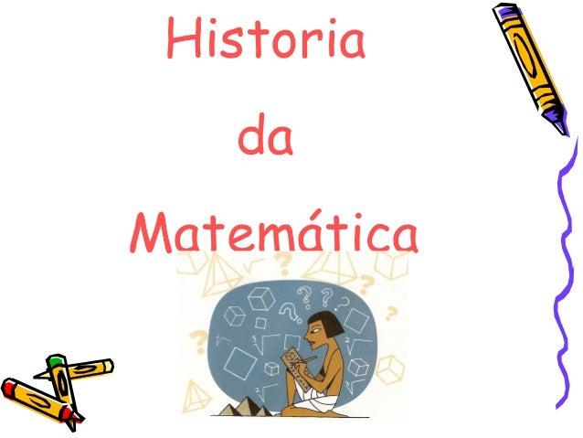 Historia da Matemática