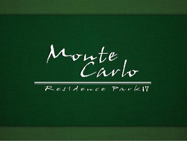 Apresentação Monte Carlo 4 - Freguesia