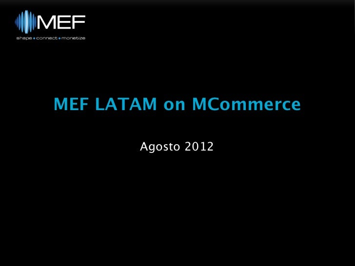 MCommerce insights on Brazil